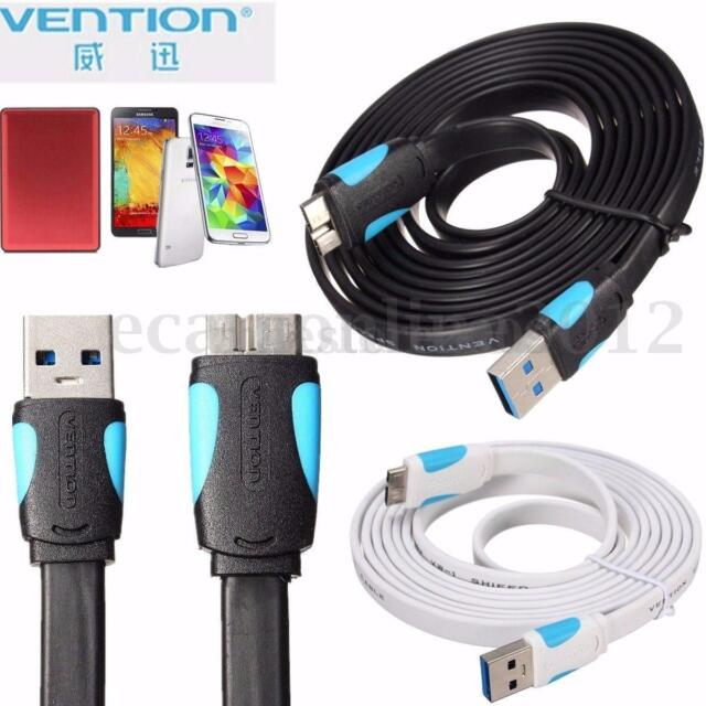 #Vention# 0.25/1/1.5/2M A12 Hard Disk Cable Line USB 3.0 Data Sync Charging Wire