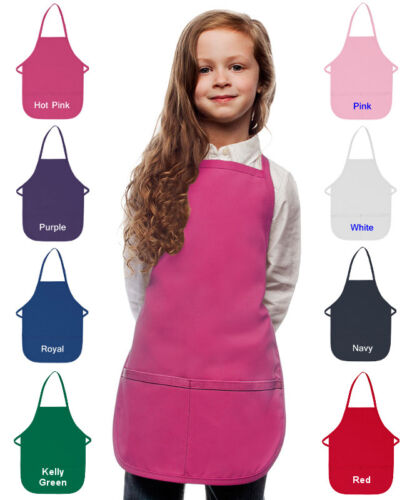 Personalized Kids Apron with Ballerina Dancer Embroidery Design