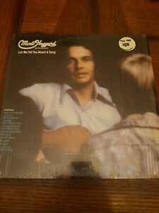 MERLE HAGGARD LET ME TELL YOU ABOUT A SONG(FIRST PRESSING)1972 EX! SHRINK WRAP