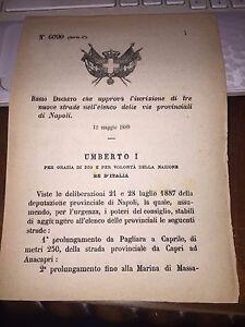 REGIO-DECRETO-APR-NUOVE-STRADE-NAPOLI-CAPRI-ANACAPRI-MARINA-di-MASSA-BOSCOREALE