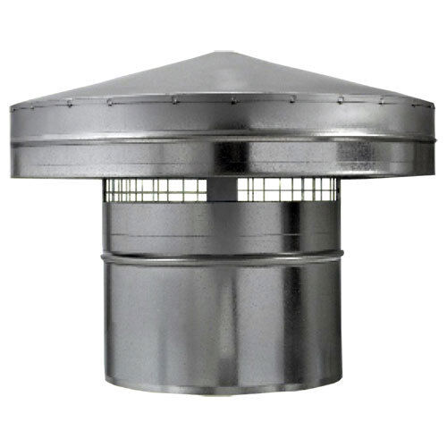 Regenhaube Dachhaube Regen Wetterschutz für Lüftungsrohre dalap Ø315 80038