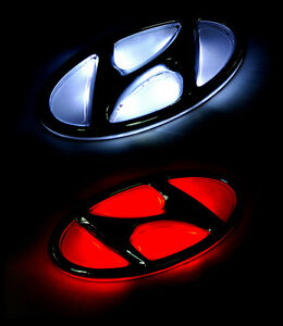 led tuning point rear trunk emblem 2way for 12 13 hyundai. Black Bedroom Furniture Sets. Home Design Ideas