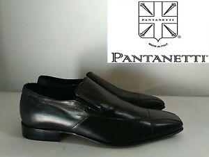 1ce84ab808 Dettagli su Pantanetti Mocassino Scarpa Elegante Uomo in Pelle Col. Nero N°  41,5 Nuovo