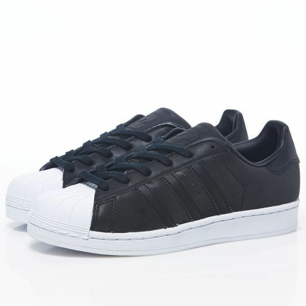huge discount c4cd0 c9b83 Adidas Women BY9176 Superstar Casual shoes black white sneakers