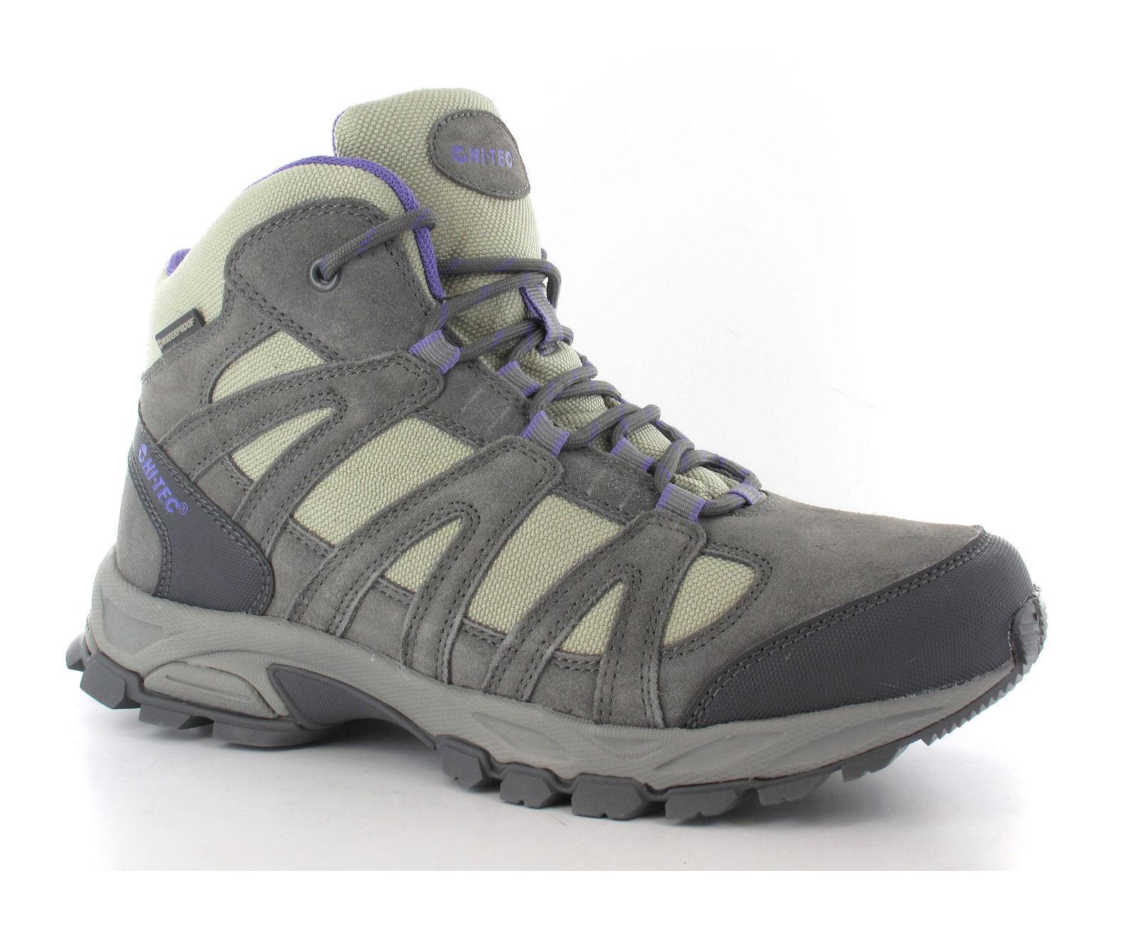 Hi-tec Alto Waterproof Lightweight Hiking Trail Walking Ankle Womens Boots