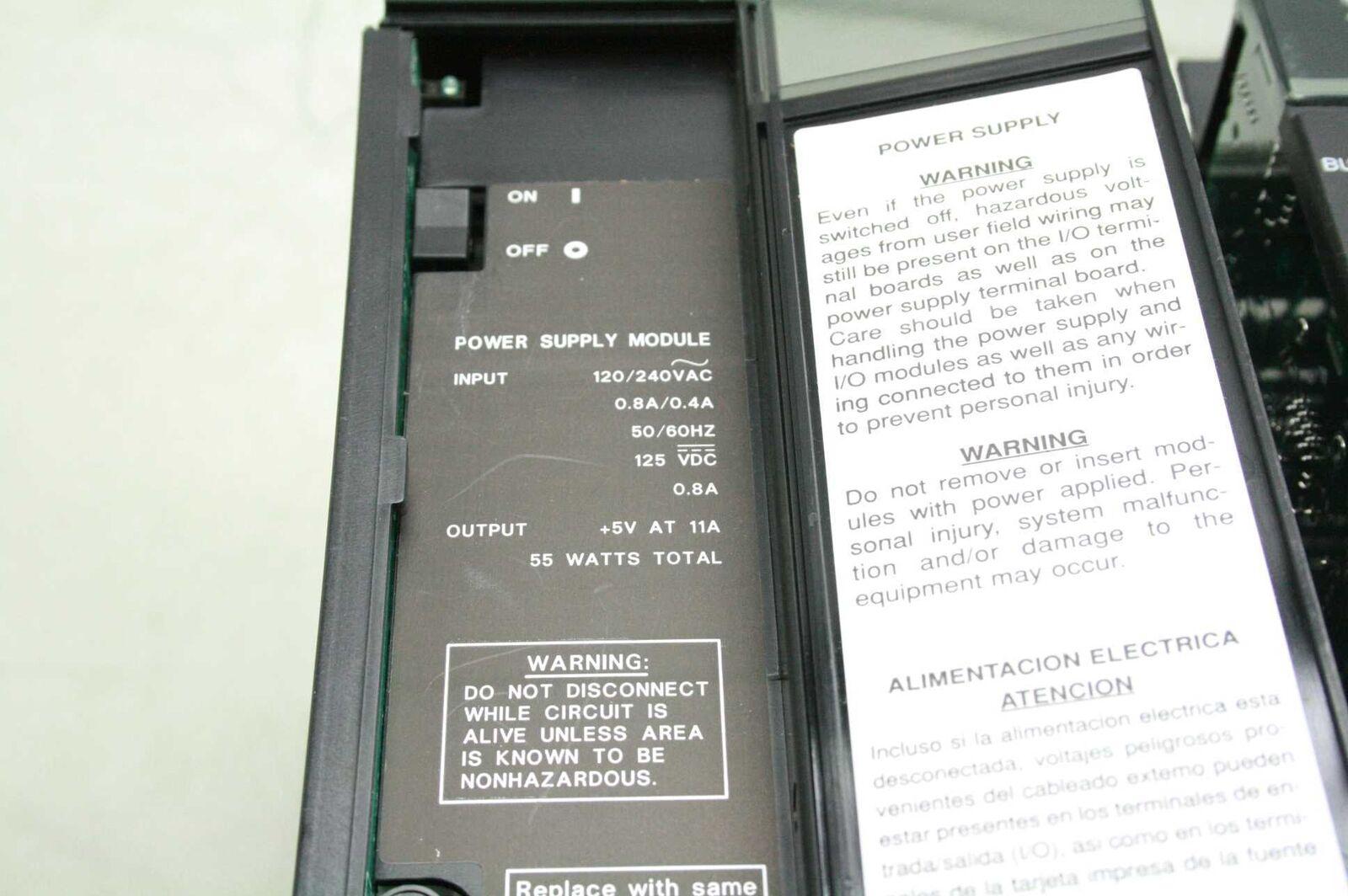 Ge Fanuc Séries 90-70 IC697PWR710F IC697PWR710F IC697PWR710F Alimentation Électrique W/4 I/O Modules c7177b