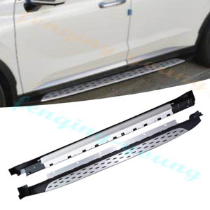 Details About Fits For Hyundai Palisade 2019 2020 Aluminium Running Board Nerf Bar Side Step