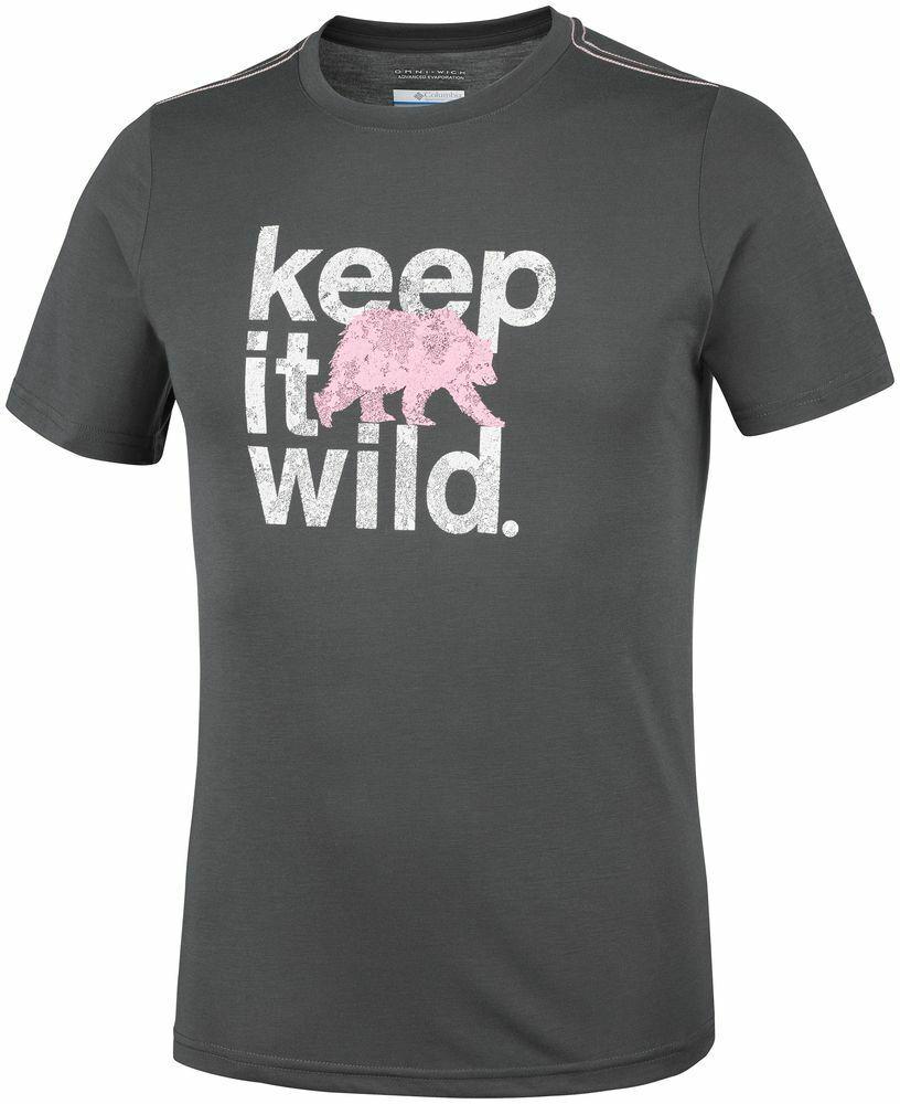 COLUMBIA Miller Valley EO0031012 Running Training T-Shirt Short Sleeve Tee Mens
