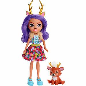 048e8390a77 Image is loading Enchantimals-DANESSA-DEER-Doll-amp-Animal-Friend-SPRINT-