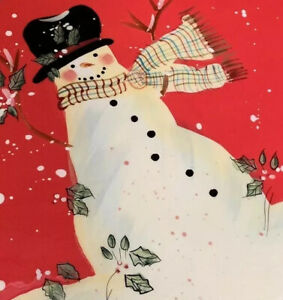 Certified-International-Susan-Winget-Tray-Dish-Red-Snowman-Christmas-Holiday