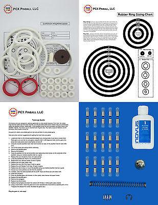 1973 Williams Gulfstream Pinball Machine Rubber Ring Kit