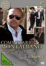 A.SIRONI/A.RUSSO/+ - COMMISSARIO MONTALBANO VOL.5 4 DVD TV-SERIE KRIMI NEU