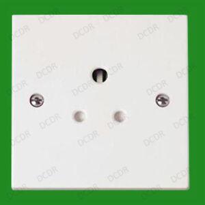 Image Is Loading 1 Gang 5A Round 3 Pin Mains Wall