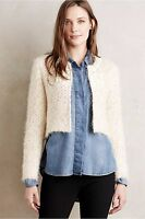 Anthropologie Islay Beaded Topper Cardi Sweater By Seen Worn Kept Xl