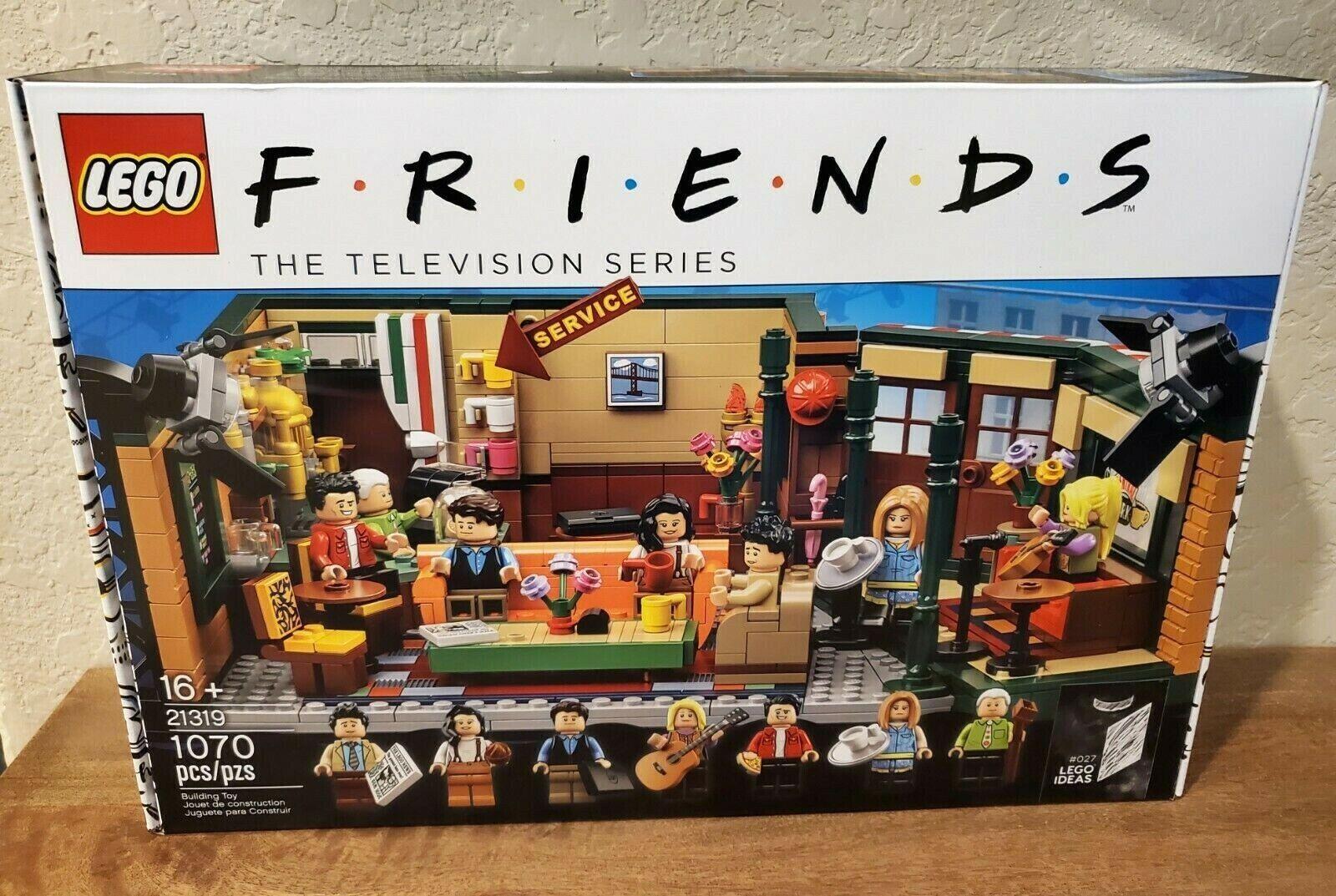 Exclusive LEGO Central  Perk 21319 IN He US Seller gratuito Shipping in US  spedizione veloce in tutto il mondo