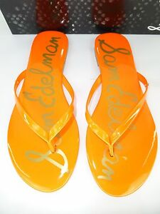 Sam-Edelman-Sandalia-OLIVER-talla-D-40-LOS-E-E-U-U-9-naranja-neon