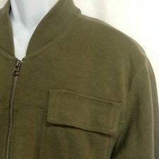 All Son Brand Jacket XL Casual Knit Soft Comfortable Olive Pockets