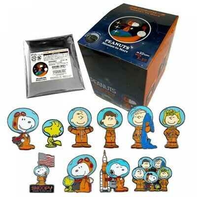 New Peanuts Snoopy Blind Brooch Box S From Japan F Mission to Mars
