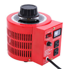 Ridgeyard 2000w Ac 0 130v60hz Auto 20amp Variable Transformer Voltage Regulator
