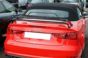 Details About Audi A3 Convertible Cabriolet Luggage Boot Rack Black