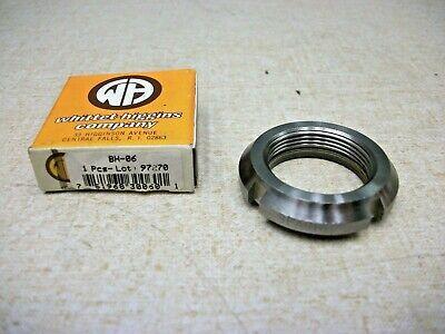 Standard N08 Not Self-Locking Replaces Rose N-08 Whittet-Higgins N-08 Threaded Shaft /& Bearing Locknut Timken N-08, SKF N 08 UNS 1.563-18 Right-Hand Thread