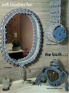 Mirror Potpourri Jar & Towel Ring Patterns - Craft Book: #GM9 Macrame With Style