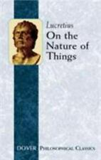 Dover Philosophical Classics: On the Nature of Things by Lucretius (2004,...