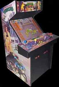 Details about Mini Teenage Mutant Ninja Turtles (TMNT) Arcade Cabinet  Display (Not a Machine)
