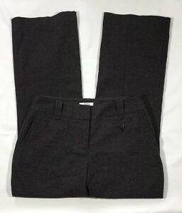 EUC-Women-039-s-Ann-Taylor-Loft-Gray-and-Black-Houndstooth-Dress-Pants-Size-4P