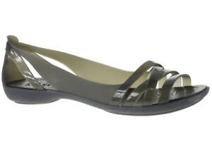 754efe63bc52 Women s Crocs Isabella Huarache 2 Flat W Sandals in Black UK 4   EU 36 -  37. About this product. Stock photo  Picture 1 of 1. Stock photo