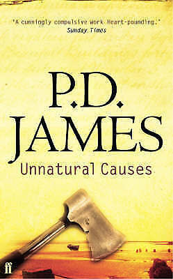 """VERY GOOD"" Unnatural Causes, P. D. James, Book"
