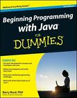 Beginning Programming with Java for Dummies by Barry Burd (2012, Paperback / Online Resource)