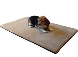Medium Xl Large Waterproof Memory Foam Pet Bed Mat