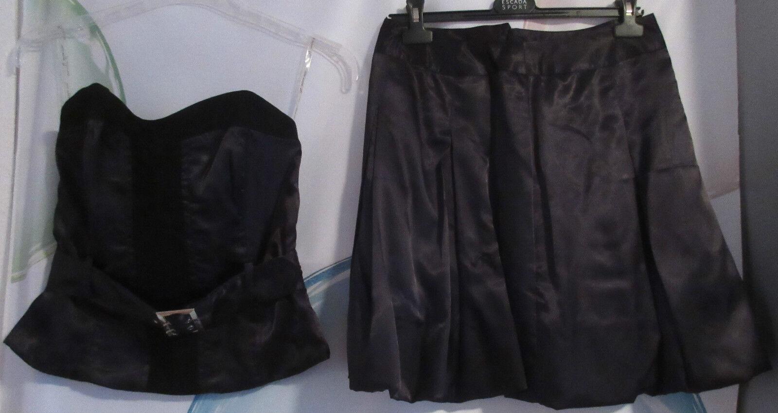 Abend Zweiteiler schwarz Glanz Gr.38 I2022       Moderate Kosten    Um Zuerst Unter ähnlichen Produkten Rang    Zu einem niedrigeren Preis