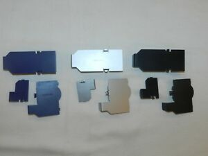 OEM-Nintendo-Gamecube-System-Serial-Port-Covers-Doors-Lids-Set-You-Pick-Color