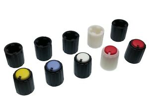 5-Colours-Plastic-Pot-Knobs-for-6mm-Potentiometer-Rotary-Switch-Encoder