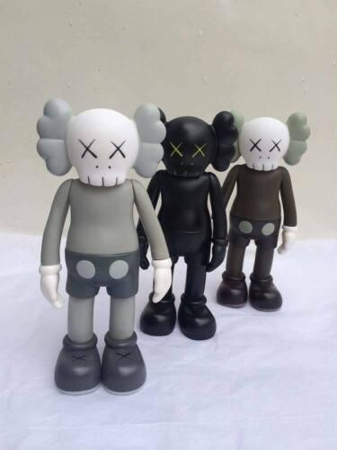 "2018 8/"" inch OriginalFake KAWS Companion Vinyl Figure Toy Stature Gifts Set"