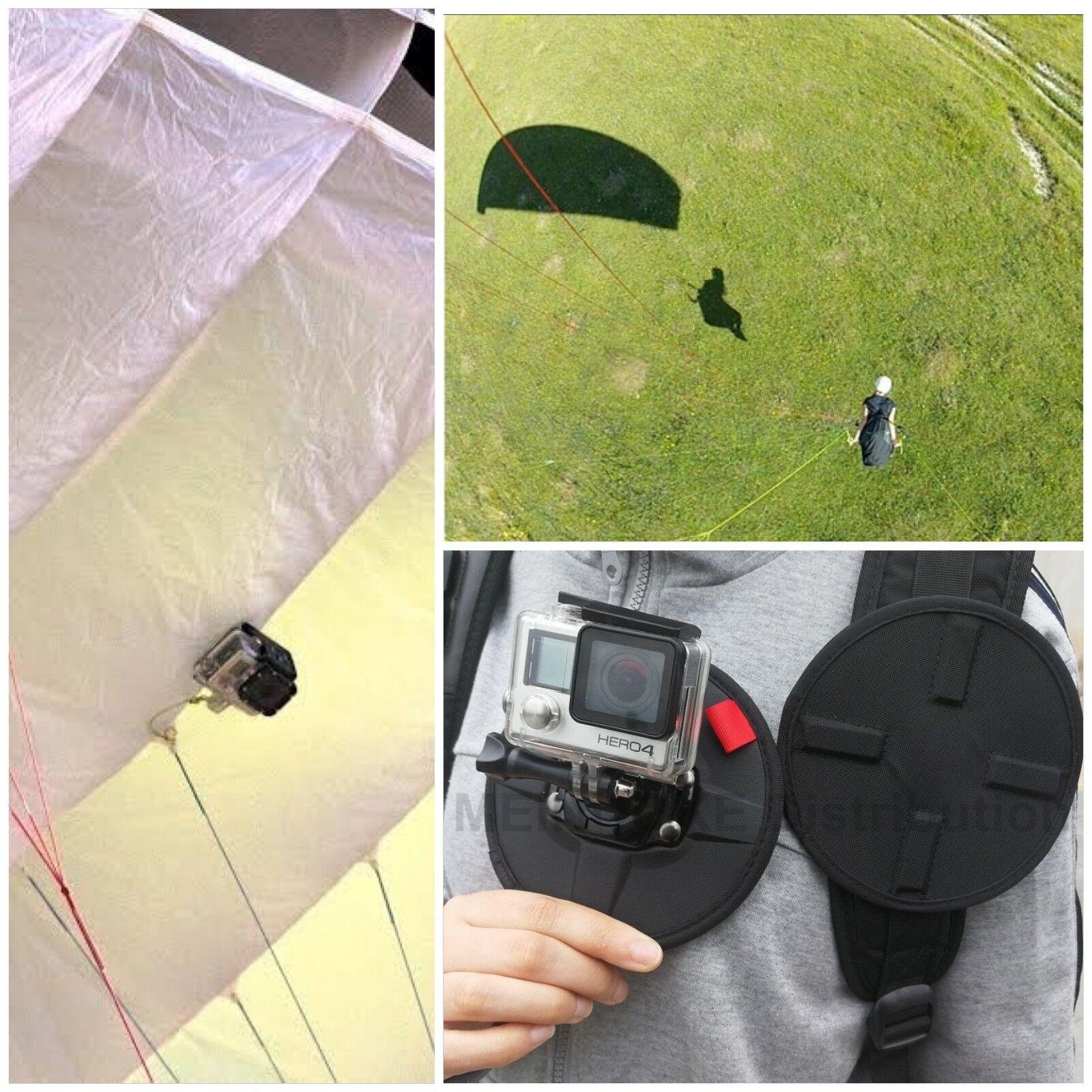 Neuf Sport Parachute Parapente Delta Magnétique MONTER GoPRO Hero Camera EQUIPE