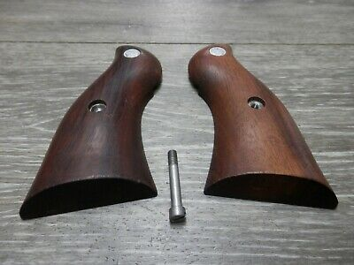 Ruger REDHAWK Revolver Smooth Polished Fine Rosewood Grips w//screw Beautiful!