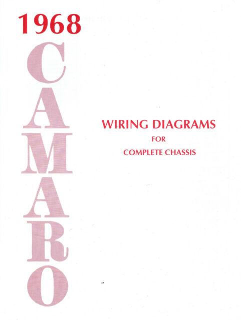 1968 68 Camaro Wiring Diagram Manual