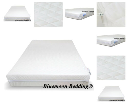 Travel Cot Mattress 65 x 95cm Zip Cover Extra Thick 10cm for Graco Mamas /& Papas