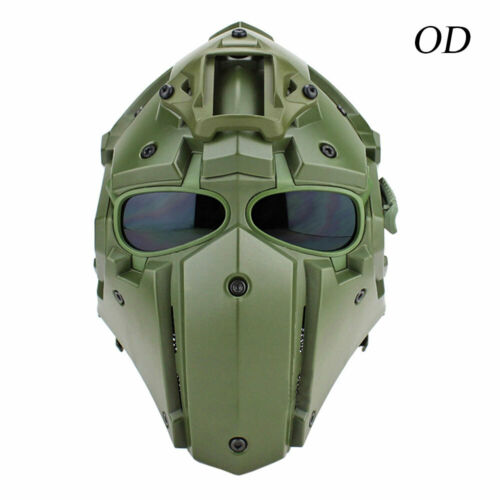 Goggles Airsoft Paintball CF CS Game Outdoor Tactical G4 Full Face Helmet Mask