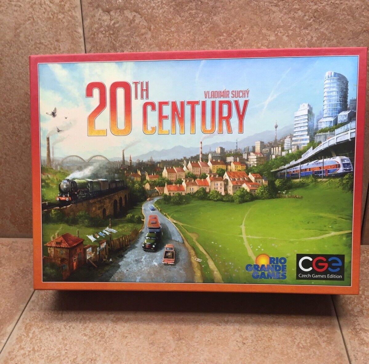 20Th Century Board Game by Vladimir Suchy Rio Grande Games