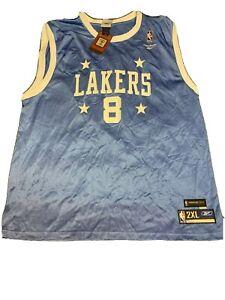 Kobe Bryant Vintage Replica #8 Light Blue Reebok 2X Jersey Super ...