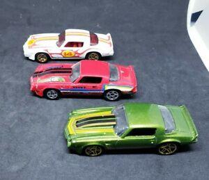 Hot Wheels 1981 Camaro Light Blue Coupe Car HW Camaro Fifty