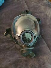 New Listingmsa Millennium Cbrn 40mm Gas Mask Size Medium Authentic Genuine Case Included