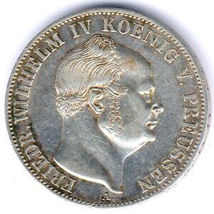 Preussen-Friedrich-Wilhelm-VI-Bergbautaler-1853-A-AKS-76-kl-Kratzer-vz