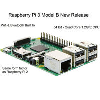 Raspberry Pi 3 Model B 1.2ghz Quad-core 64bit Armv8 Cpu 1gb Ram Wifi Bluetooth