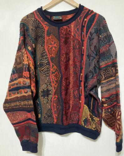 COOGI Australia Vintage Wool Sweater Cosby Biggie