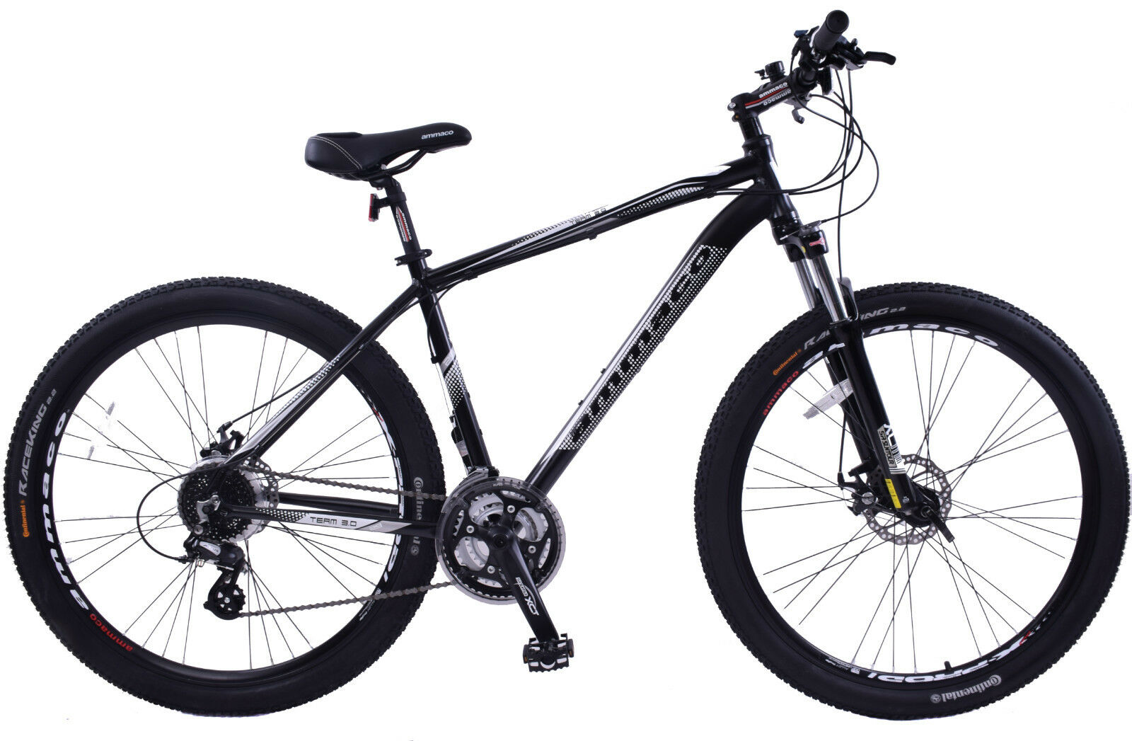 TEAM 3.0 MENS MOUNTAIN BIKE 29  WHEEL 21  ALLOY FRAME 24 SPEED FRONT SUSPENSION